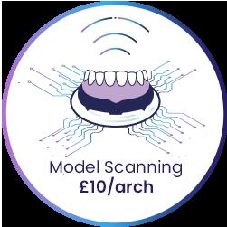 dental model scanning