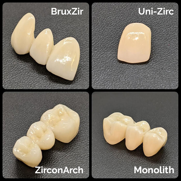 costech types of zirconia image