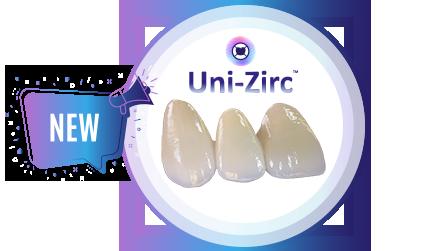 costech uni-zirc zirconia crown image